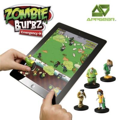 WowWee Jeu pour application mobile Appgear - Zombie Burbz : Services