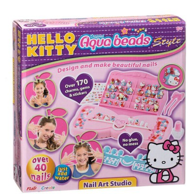 Aquabeads Perles aquabeads hello kitty : nails art studio