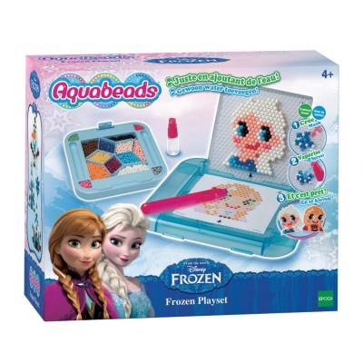 Aquabeads Perles aquabeads : coffret la reine des neiges (frozen)