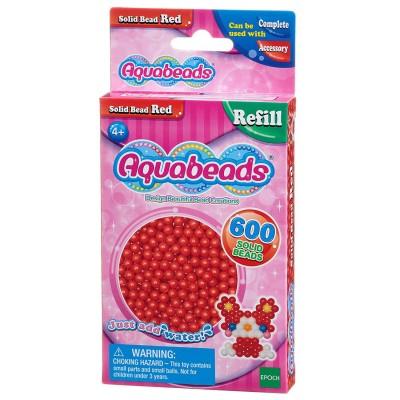 Aquabeads Aquabeads : recharge de 600 perles rouges