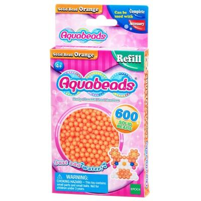 Aquabeads Aquabeads : recharge de 600 perles orange