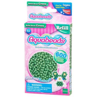 Aquabeads Aquabeads : recharge de 600 perles vertes