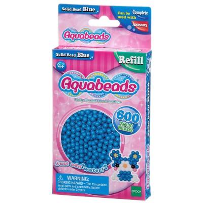 Aquabeads Aquabeads : recharge de 600 perles bleues