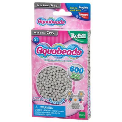 Aquabeads Aquabeads : recharge de 600 perles grises