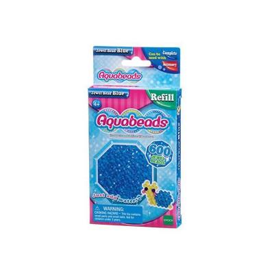 Aquabeads Aquabeads : recharge de 600 perles à facettes bleues