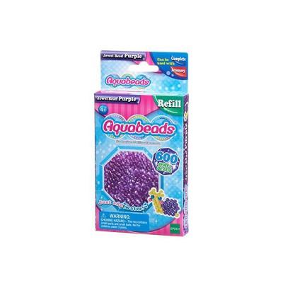 Aquabeads Aquabeads : recharge de 600 perles à facettes violettes