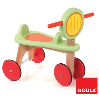 Goula Porteur moto en bois