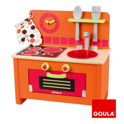 cuisini re en bois goula magasin de jouets pour enfants. Black Bedroom Furniture Sets. Home Design Ideas
