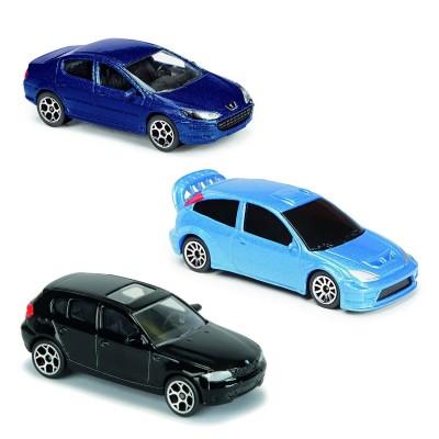 Majorette Voitures en métal Majorette : Lot de 3 véhicules