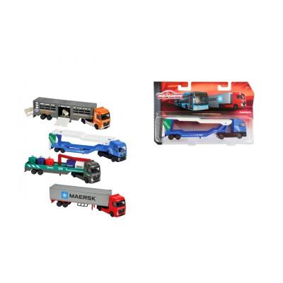 Majorette Camion Majorette Transporter : Transport de marchandises (à l'unité)