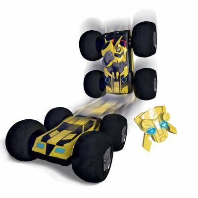 Majorette Véhicule radiocommandé transformers : bumblebee 1/16