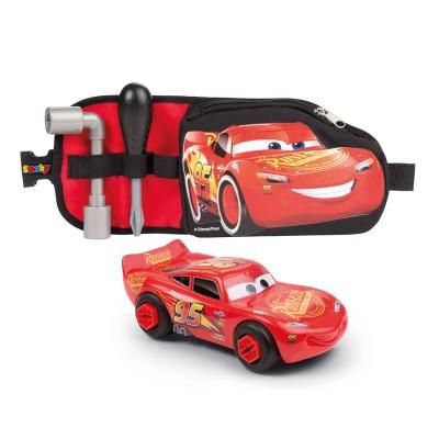 Majorette Ceinture d'outils et voiture à construire cars