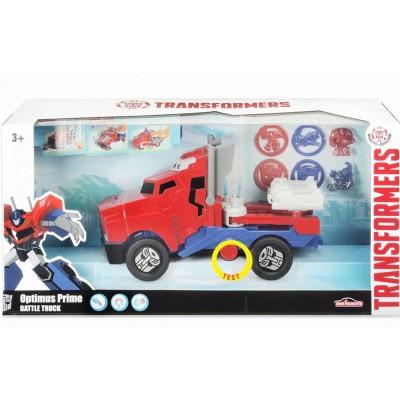 Majorette Camion transformers optimus primum : lance disque