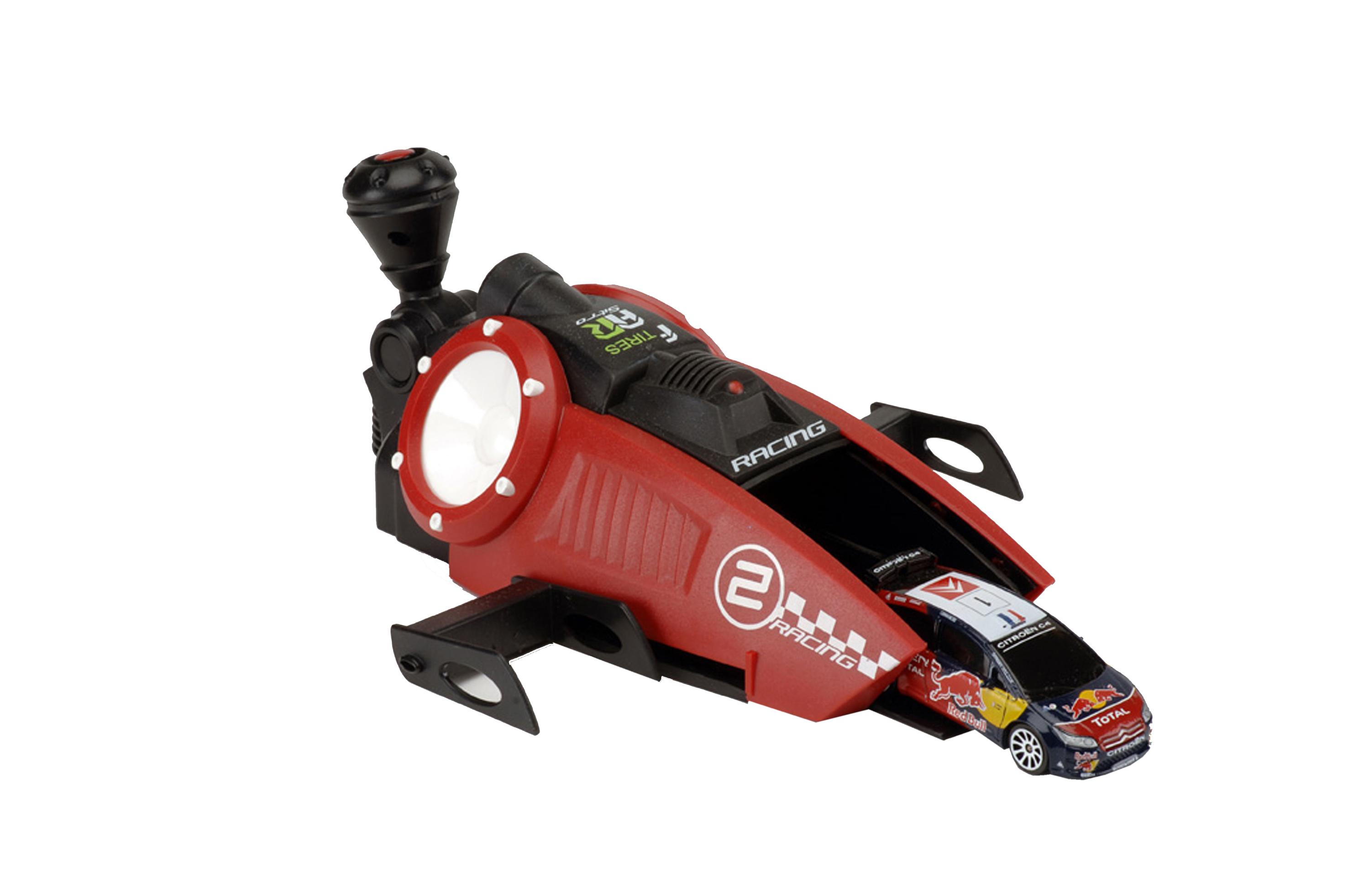 Majorette Voiture avec lanceur Majorette : Racing Turbo Booster