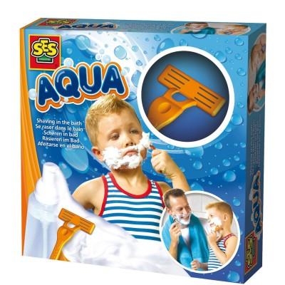 SES Creative Jouet pour le bain Aqua : Se raser dans le bain. Jouet pour le bain Aqua : Se raser dans le bain