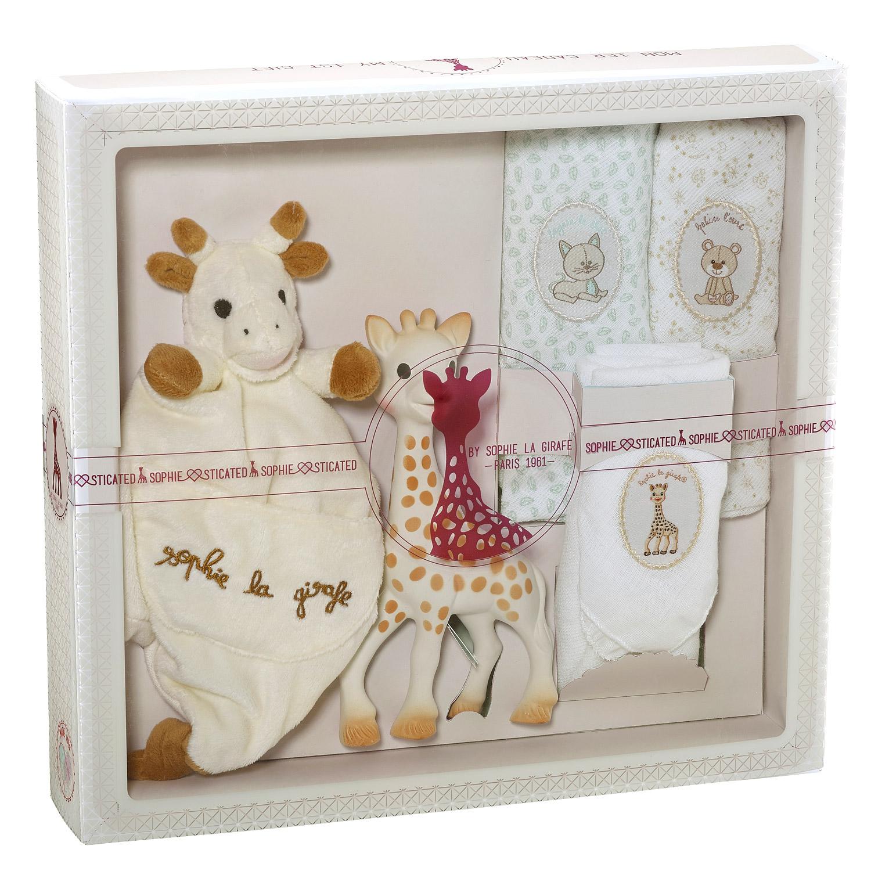 coffret sophie girafe. Black Bedroom Furniture Sets. Home Design Ideas