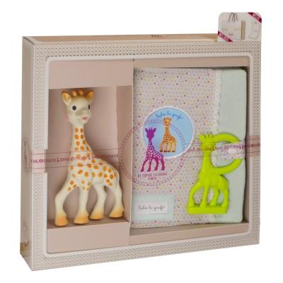 Vulli Coffret de naissance Sophie la Girafe : Sophisticated grand modèle version 2