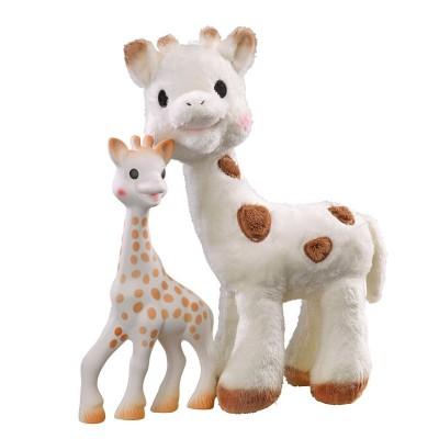 Vulli Coffret jouet et peluche : Sophie la girafe et Sophie Chérie