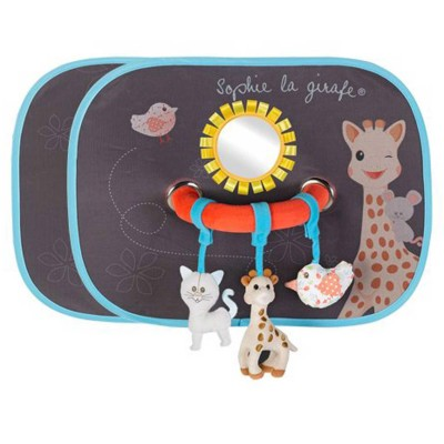 Vulli Set de deux pare-soleil Sophie la girafe