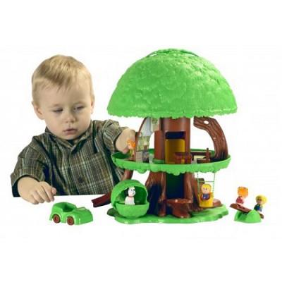 Maison de poup es arbre magique des klorofil vulli for Arbre maison jouet