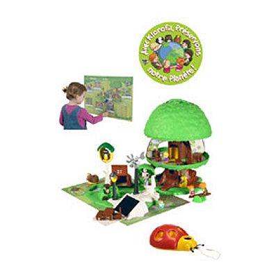 Maison de poup es magic 39 land klorofil arbre magique for Arbre maison jouet