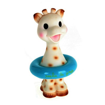 Vulli Jouet pour le bain Sophie la Girafe : Bleu