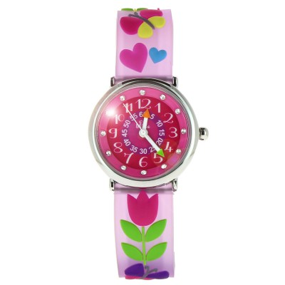 Baby Watch montre baby watch zap pédagogique : tulipe