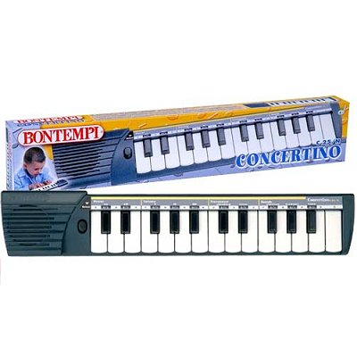 Bontempi Clavier numérique Keyboards 40 cm : Concertino