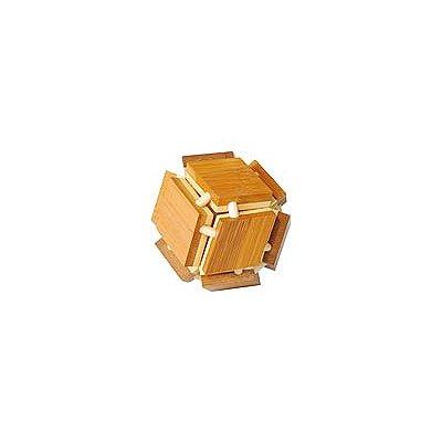 Edition Fridolin Casse-tête en bois Bamboo : Cube