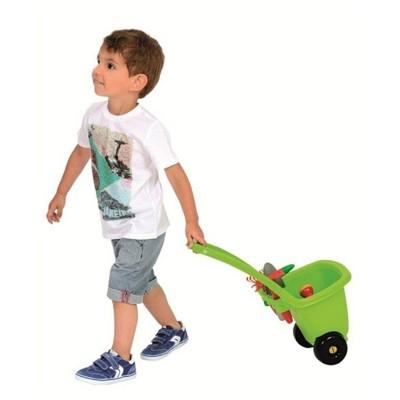 Ecoiffier Chariot de jardinage et ses outils