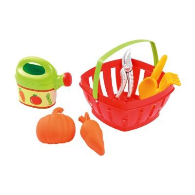 Ecoiffier Panier du jardinier et ses accessoires