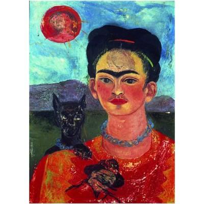Ricordi Arte puzzle 1000 pièces : autoportrait, frida kahlo