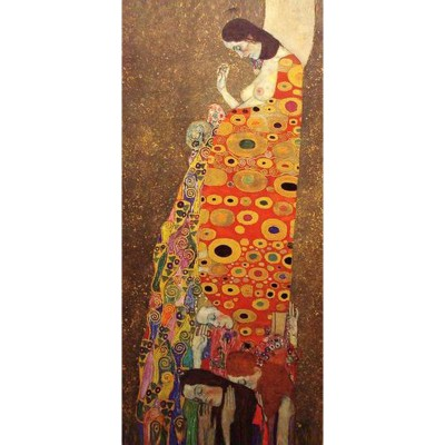 Ricordi Arte puzzle 2000 pièces panoramique : l'espoir ii, gustav klimt