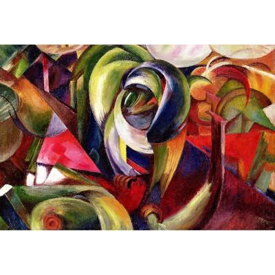 Ricordi Arte puzzle 1500 pièces : mandrill, franz marc