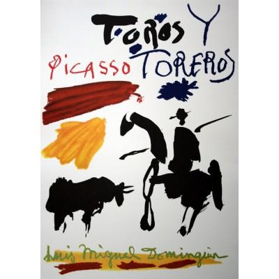 Ricordi Arte puzzle 1000 pièces : toros y toreros, pablo picasso