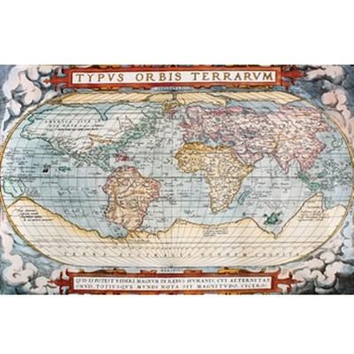 Puzzle Michèle Wilson Puzzle d'art en bois 5000 pièces Michèle Wilson - Carte du monde : La théâtre du monde