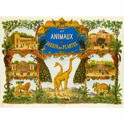 Puzzle Michèle Wilson Puzzle en bois Art maxi 50 pièces : Le jardin des plantes