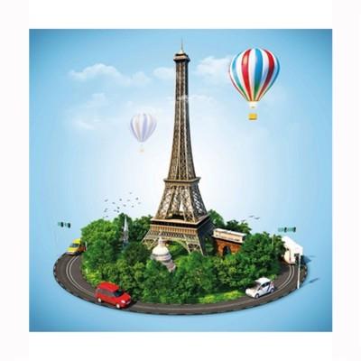 Puzzle Michèle Wilson Puzzle d'art en bois 30 pièces Michèle Wilson Cuzzles Paris : Paris en fête