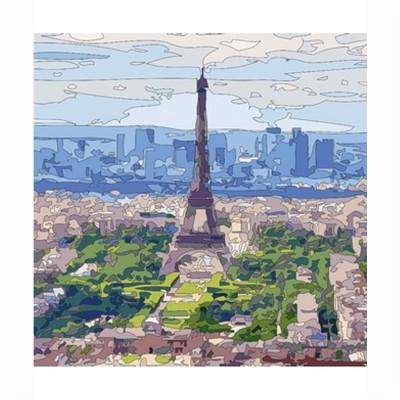 Puzzle Michèle Wilson Puzzle d'art en bois 30 pièces Michèle Wilson Cuzzles Paris : Ciel de Paris