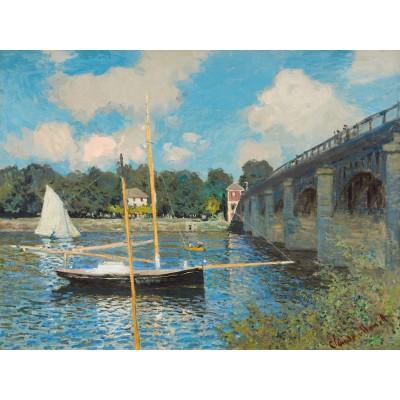Puzzle Michèle Wilson Puzzle d'art en bois 500 pièces : Monet : Le pont d'Argenteuil