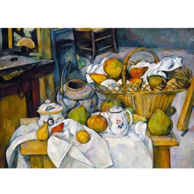 Puzzle Michèle Wilson Puzzle en bois : Art maxi 24 pièces : Cézanne : Nature morte