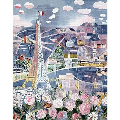 Puzzle Michèle Wilson Puzzle en bois - Art maxi 24 pièces - Dufy : Paris au Printemps
