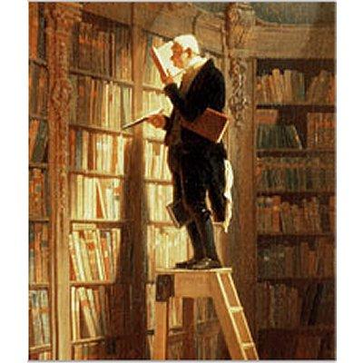 Puzzle Michèle Wilson Puzzle d'art en bois 150 pièces Michèle Wilson - DAUMIER : Le Rat de Bibliothèque