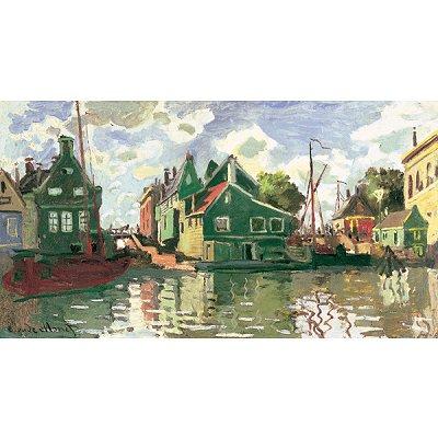 Puzzle Michèle Wilson Puzzle d'art en bois 2500 pièces Michèle Wilson - Monet : Canal à Zaadam