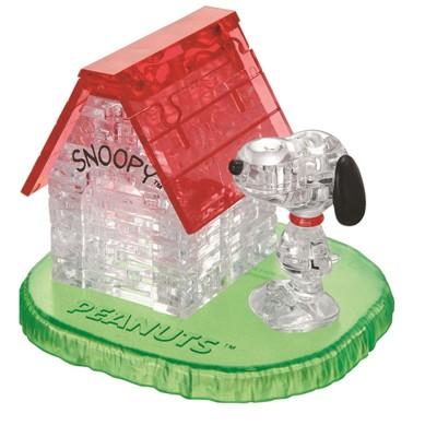 Hcm Kinzel puzzle 3d : 50 pièces : la maison de snoopy