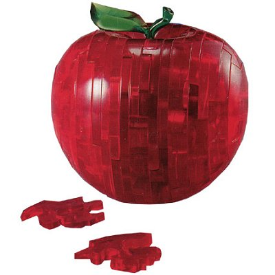 Hcm Kinzel puzzle 3d - 44 pièces - belle pomme rouge