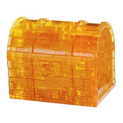 Hcm Kinzel puzzle 3d - 46 pièces - coffre au trésor