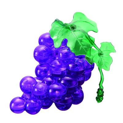 Hcm Kinzel puzzle 3d - 46 pièces - grappe de raisin : violet