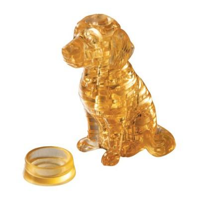 Hcm Kinzel puzzle 3d - 41 pièces : golden retriever
