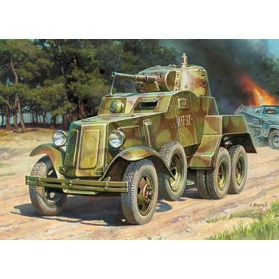 Zvezda Maquette voiture blindée ba-10